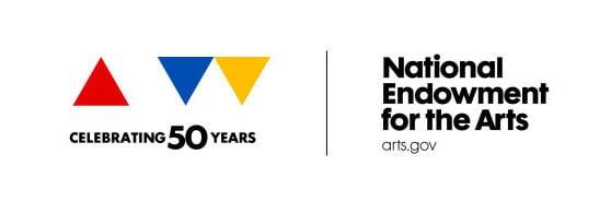 NEA 50 year logo