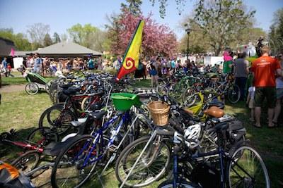 mayday bike parking