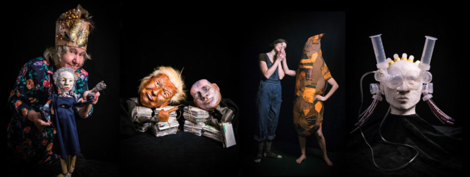 Puppets made by Puppet Lab 2017 artists!